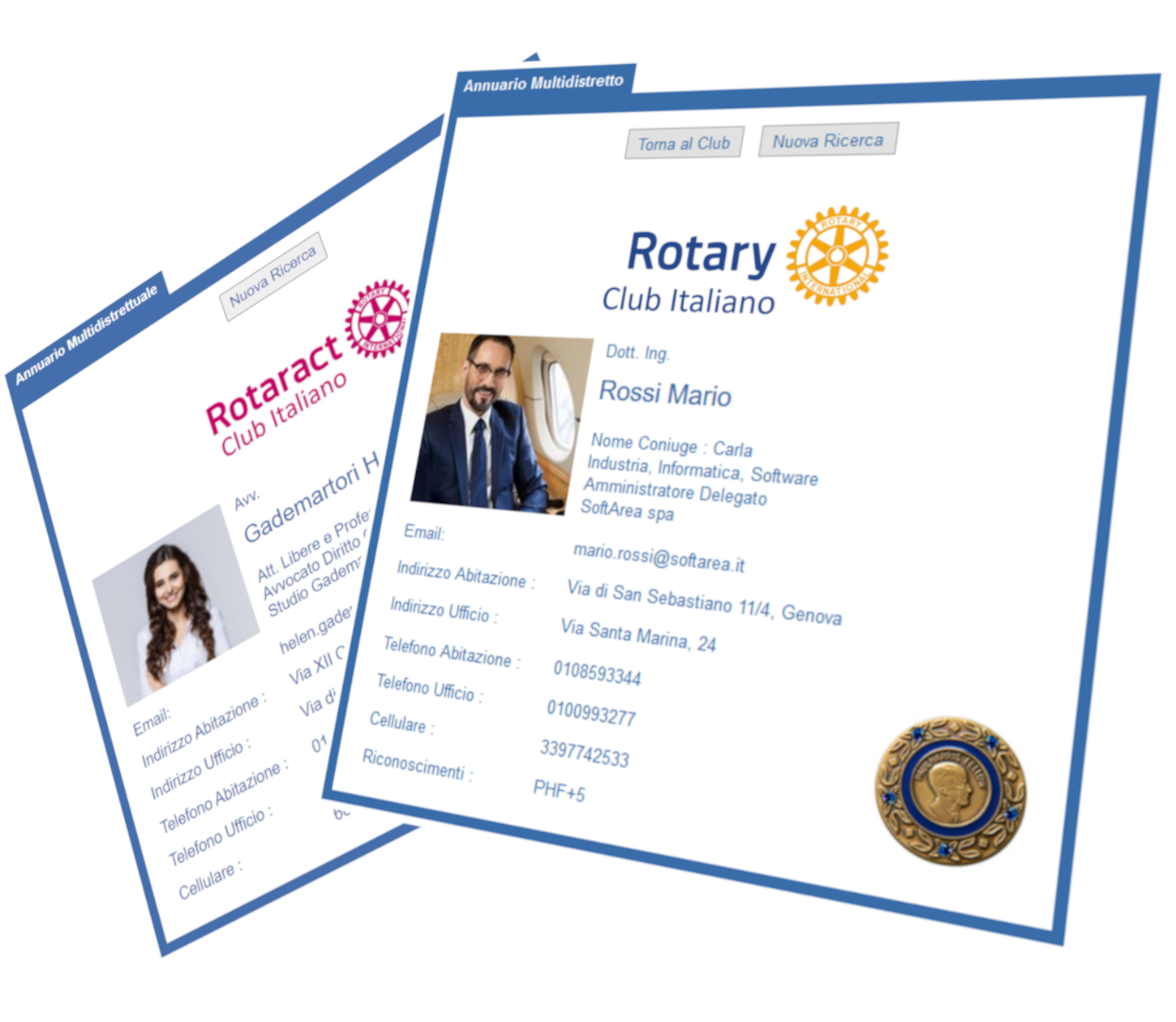 Annuario Multideistrettuale Rotary e Rotaract Club